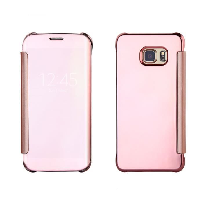 coque rose galaxy s6