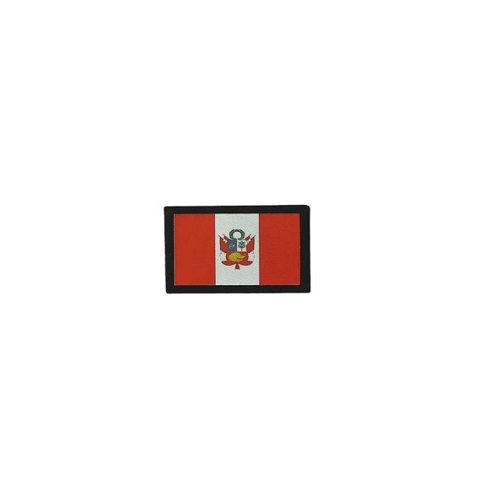 Pérou Drapeau Badge Brodé Patch
