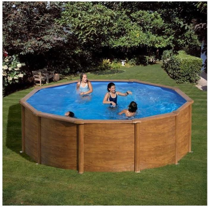 piscine hors sol sicilia gre diam 300 cm h120 filtre cartouche achat vente piscine piscine. Black Bedroom Furniture Sets. Home Design Ideas