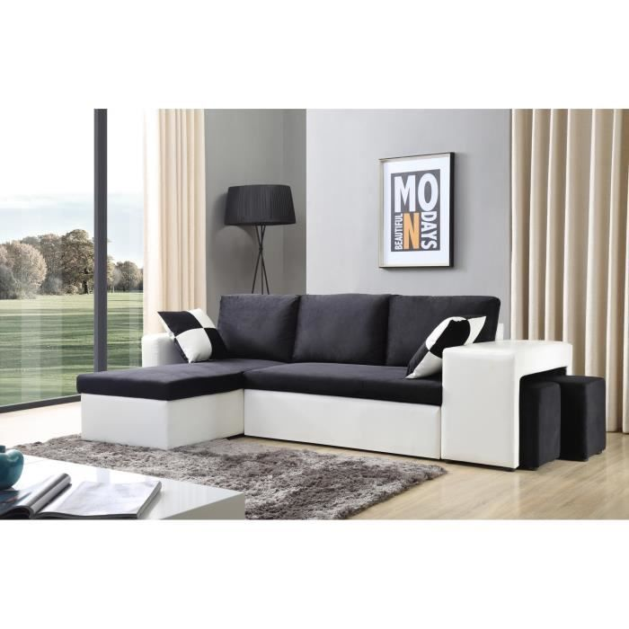 nevada canap d angle r versible convertible 248 x 145. Black Bedroom Furniture Sets. Home Design Ideas