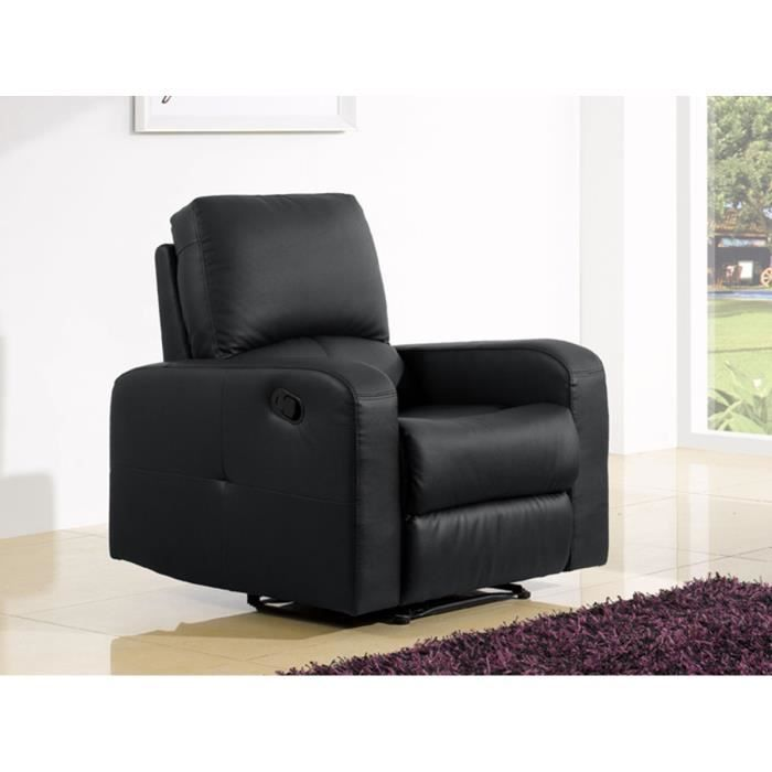 fauteuil design cuir noir maison design. Black Bedroom Furniture Sets. Home Design Ideas