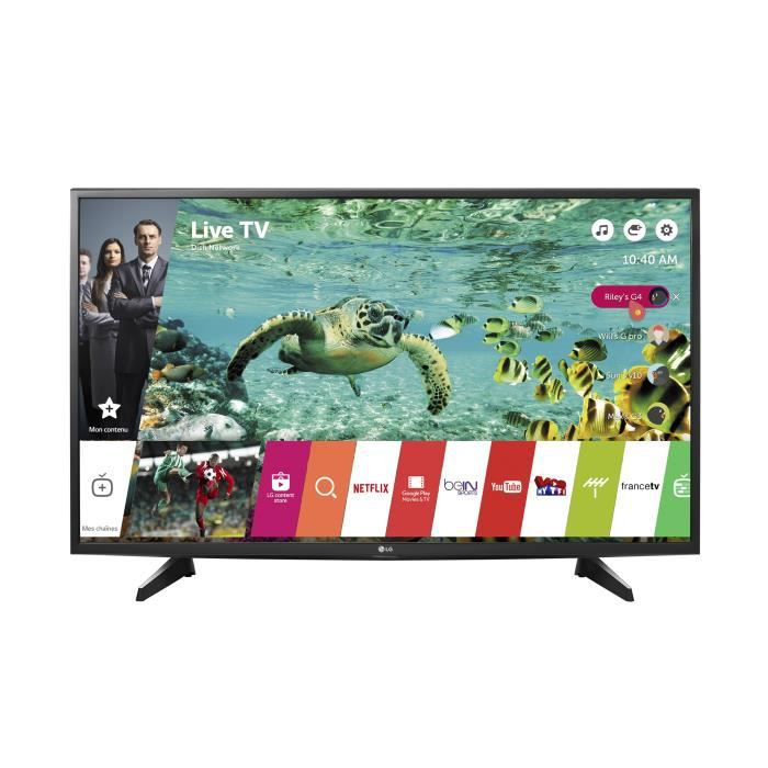 lg 49uh600v tv uhd 4k 123cm 49 smart tv webos 3 0 wifi t l viseur led avis et prix. Black Bedroom Furniture Sets. Home Design Ideas