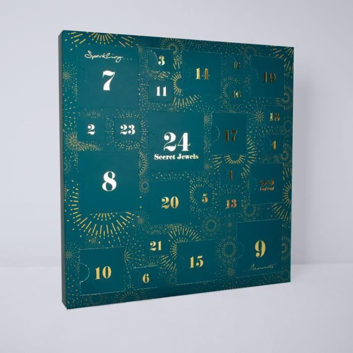 Calendrier de l'avent Calendrier de l'avent 2019 Bleu - 24 Bijoux