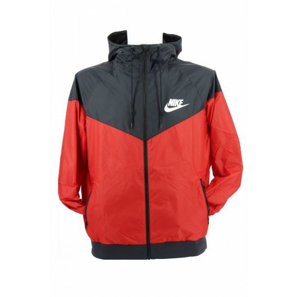 veste nike windrunner 544119 6 rouge achat vente veste cdiscount. Black Bedroom Furniture Sets. Home Design Ideas