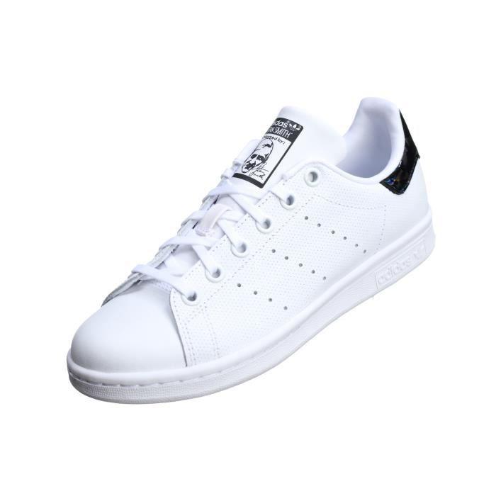 Basket garçon Adidas Stan Smith J Db1206 Blanc Blanc