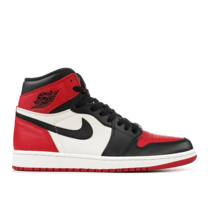 air jordan 1 mid rouge homme
