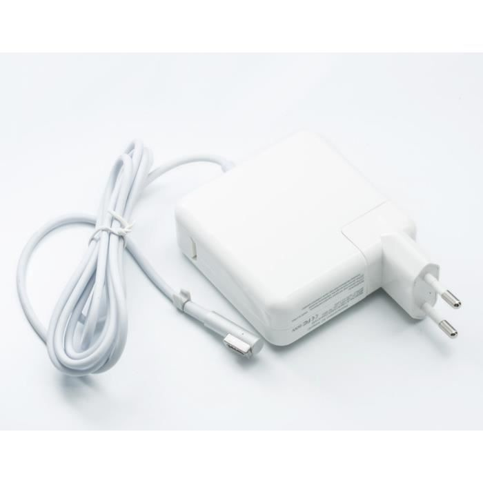 60w chargeur secteur pour apple macbook pro air achat. Black Bedroom Furniture Sets. Home Design Ideas