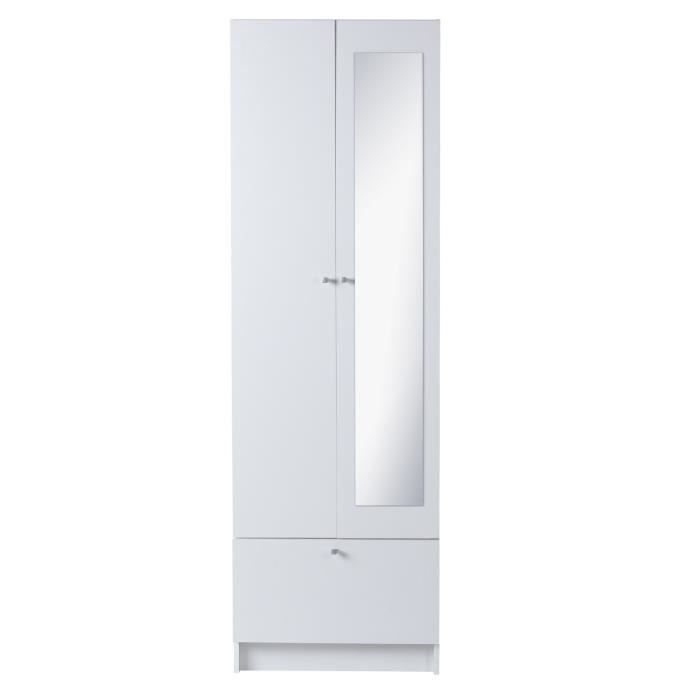 slash armoire de salle de bain l 59 cm blanc mat achat. Black Bedroom Furniture Sets. Home Design Ideas