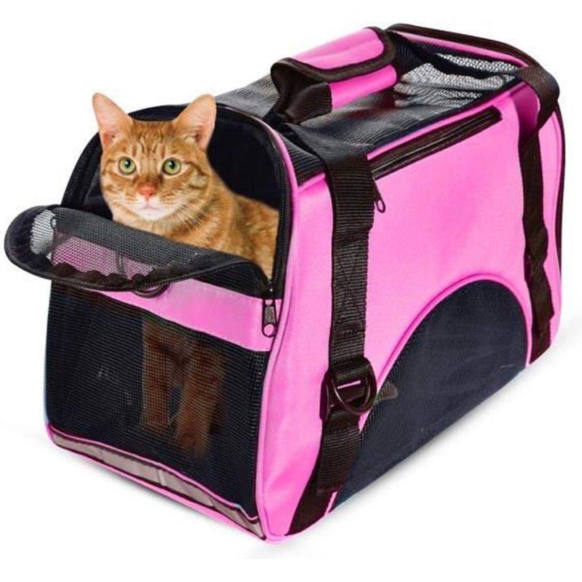 Souple transporteur sac de voyage /à bandouli/ère Sac /à main pour chien//chat Taille Petite Rouge