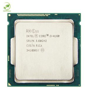 PROCESSEUR Intel Core i3 4160 Dual Core 3.60 GHz Haswell CPU