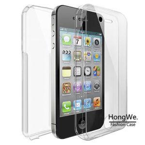 hlmonkey r coque silicone gel integrale iphone 4