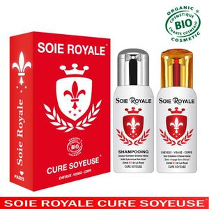ANTI-ÂGE - ANTI-RIDE Coffret Soie Royale BIO Cure Soyeuse 125 ml Shampo