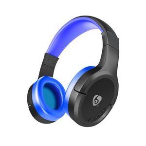 CASQUE - ÉCOUTEURS OVLENG casque sans fil Bluetooth écouteur mains li