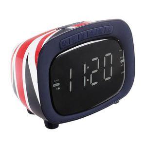 Radio réveil CLIPSONIC AR313 Radio-réveil FM PLL - UK design