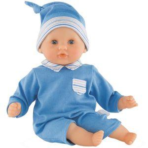 POUPON COROLLE Petit poupon Bébé Câlin 30 cm - Bleu - FFP