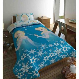 couette enfant reine des neiges achat vente pas cher. Black Bedroom Furniture Sets. Home Design Ideas