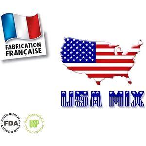 LIQUIDE E-LIQUIDE 100% FRANCAIS 10ml TABAC USA MIX 6mg