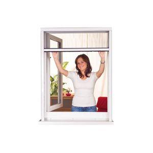 MOUSTIQUAIRE OUVERTURE Moustiquaire Enroulable Fenêtre START PVC Blanc L8