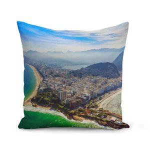 HOUSSE DE COUSSIN Housse de Coussin 40x40 cm Rio de Janeiro Bresil P