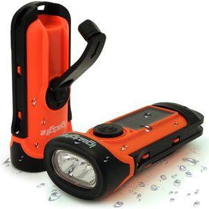 LAMPE DE POCHE igadgitz Xtra Lampe Torche LED Rechargeable Solair