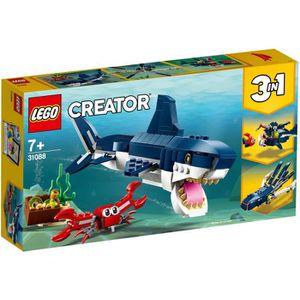 ASSEMBLAGE CONSTRUCTION LEGO® Creator 3-en-1 31088 Les Créatures Sous-Mari