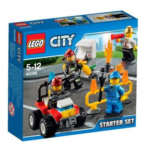 ASSEMBLAGE CONSTRUCTION LEGO® City 60088 Ensemble de démarrage Pompiers