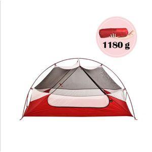 TENTE DE CAMPING Tente de camping 2 personnes - 185x66x92cm - pour