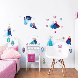 Stickers Muraux Chambre Enfant Fille Princesse Kibi Stickers ...