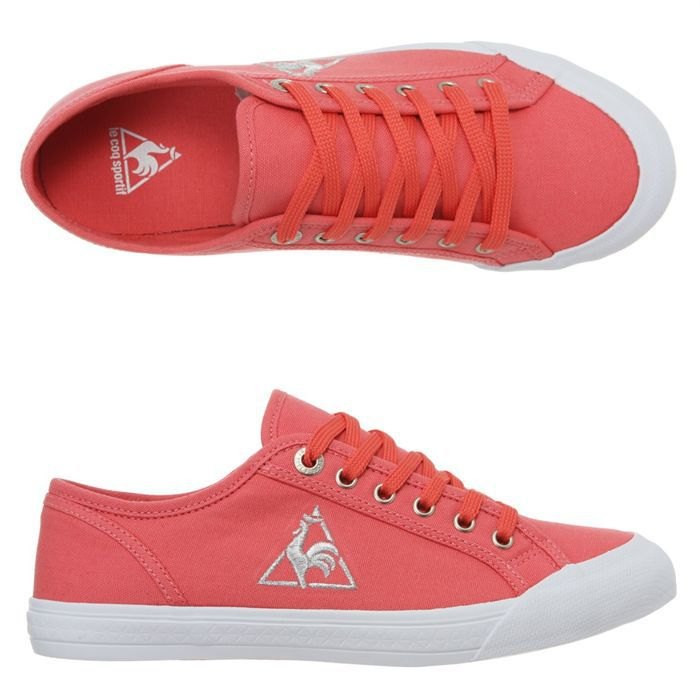 le coq sportif deauville plus chronic femme femme corail achat vente le coq sportif. Black Bedroom Furniture Sets. Home Design Ideas