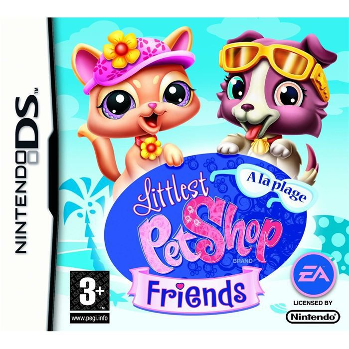 littlest pet shop friends achat vente jeu ds dsi littlest pet shop friends a cdiscount. Black Bedroom Furniture Sets. Home Design Ideas