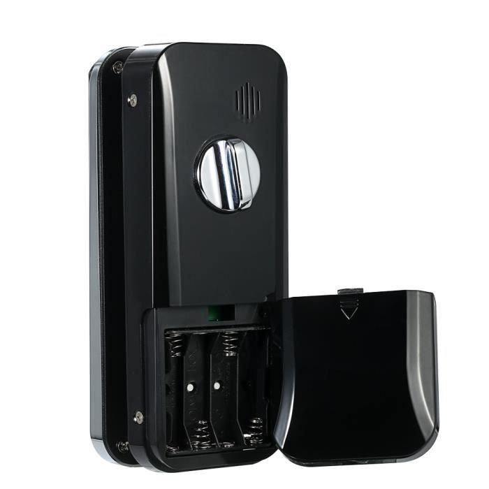 Serrure à empreinte digitale de porte ouverte d'empreinte digitale et d'écran tactile Lock serrure numérique de porte en verre