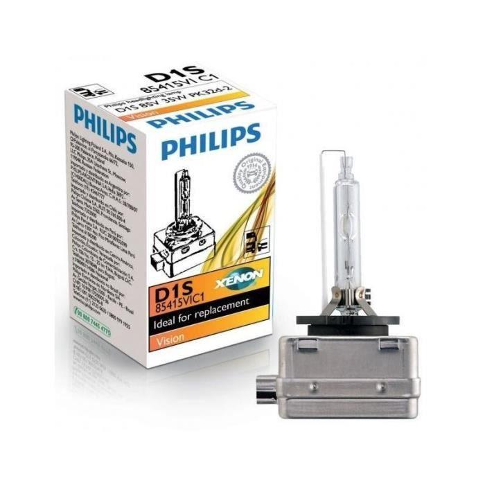 1 AMPOULE XENON D1S PHILIPS VISION 85415 35W