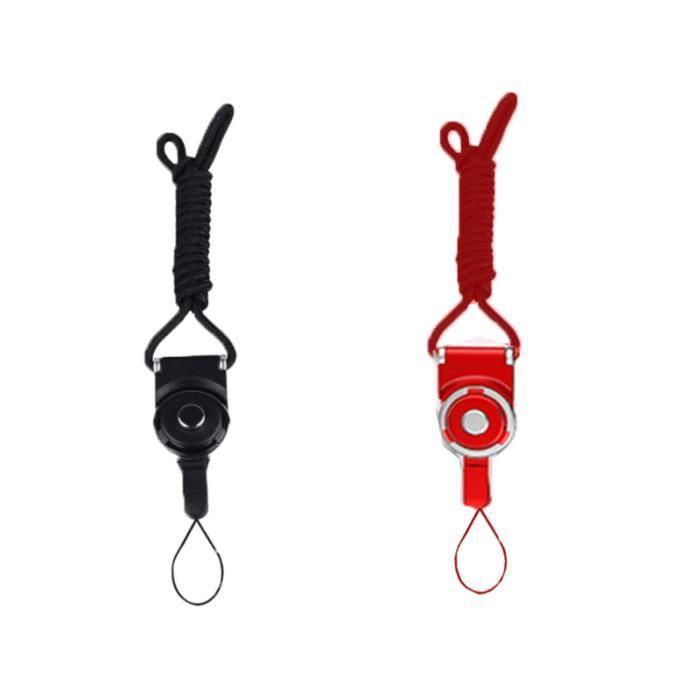 2 pièces corde suspendue conception simple haute qualité bien cordon de suspension stable TELEPHONE MOUNTING - TELEPHONE HOLDER