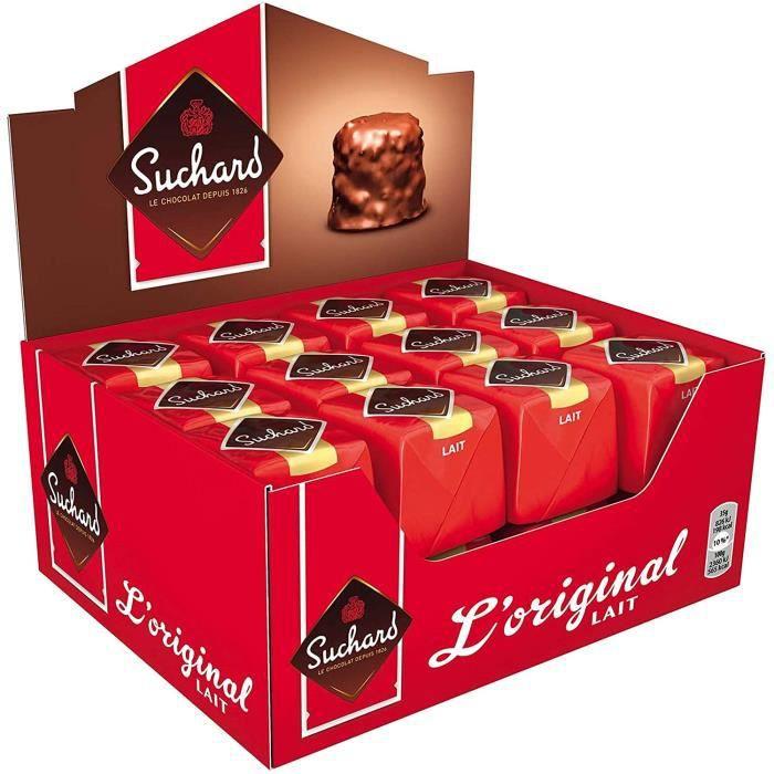 Suchard Rocher Chocolat Lait pack 24 rochers x 35g - 840g