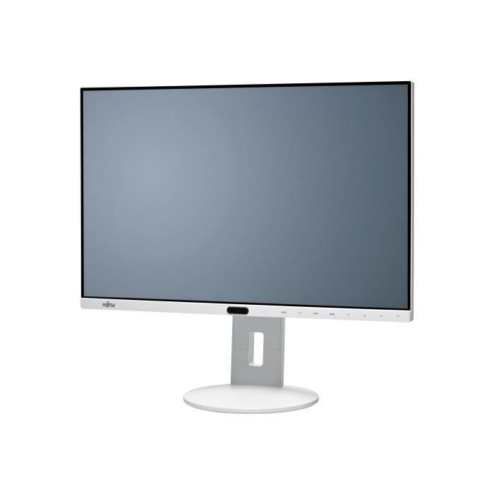 FUJITSU Moniteur LCD P24-8 WE Neo 61 cm (24-) WUXGA WLED - 16:10 - Gris Marbre - Résolution 1920 x 1200 - 16,7 Millions de Couleurs