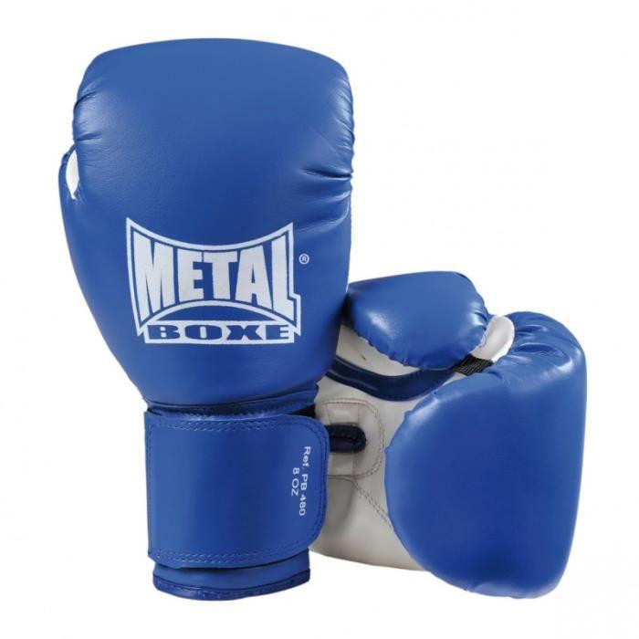 Gants boxe Métal Boxe initiation