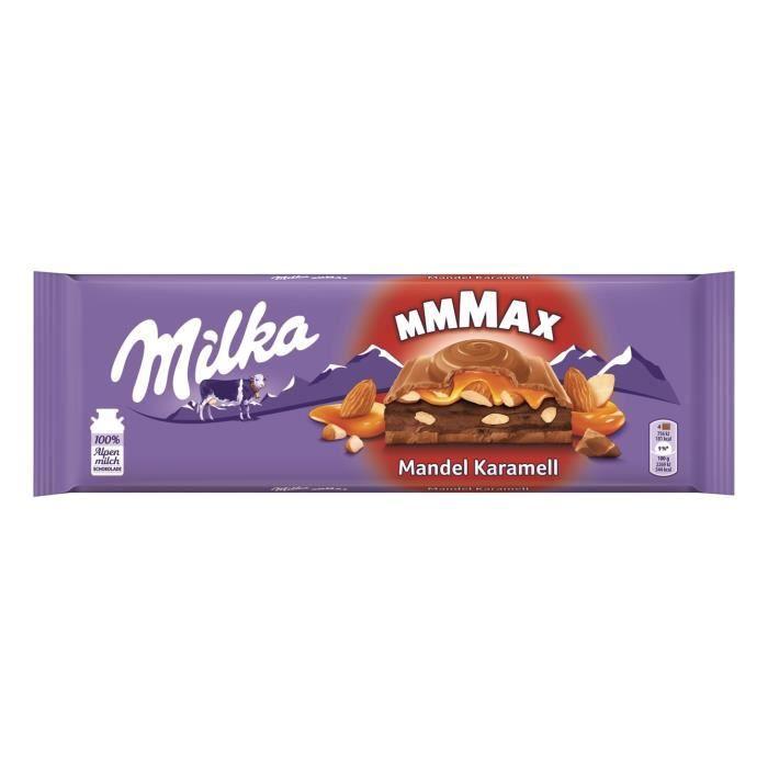 3x Milka Caramel aux amandes Chocolat 300g