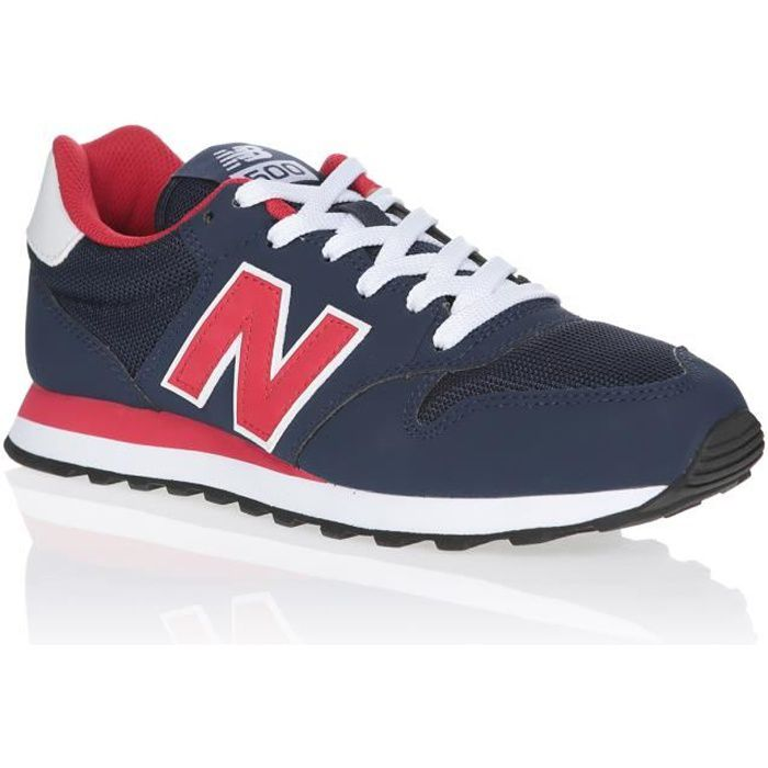NEW BALANCE Baskets GM500 Bleu Marine/Rouge/Blanc Mixte
