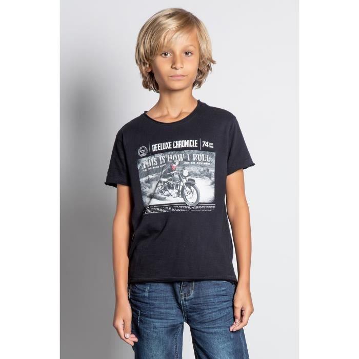 DEELUXE T-shirt avec photo BREAKER Black