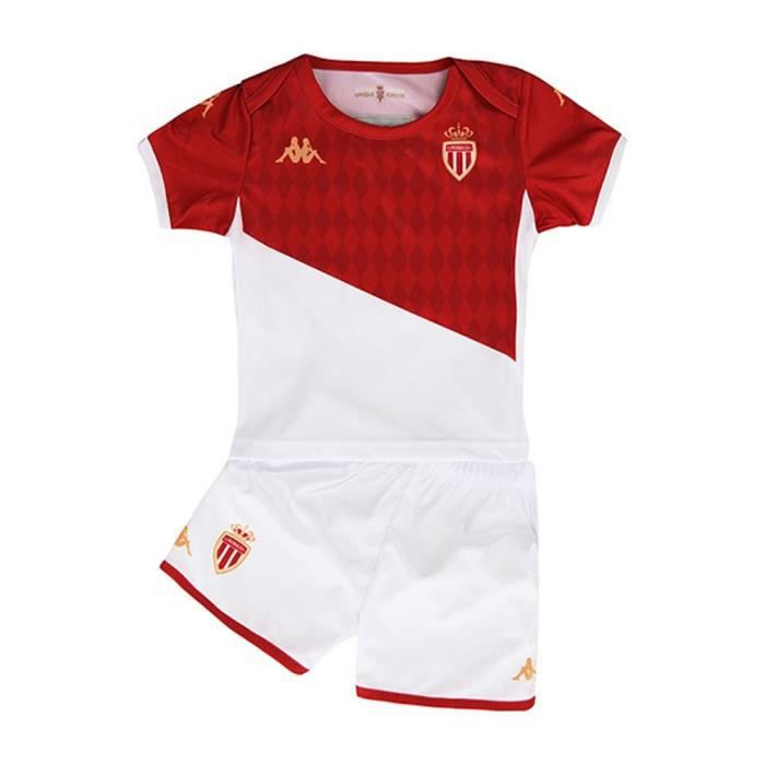 AS Monaco Mini Kit Bébé Domicile Kappa 2019/2020