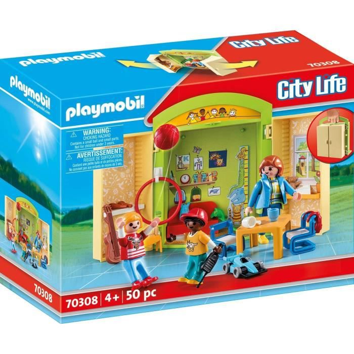 PLAYMOBIL Jouets de construction City Life 70308 jouet