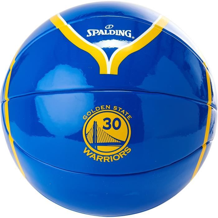SPALDING - Mini-ballon de basket NBA - Stephen Curry - Golden State Warriors