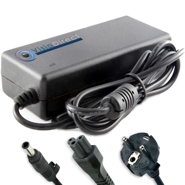 Alimentation pour SONY Vaio VGN-C2ZR Adaptateur chargeur ordinateur portable