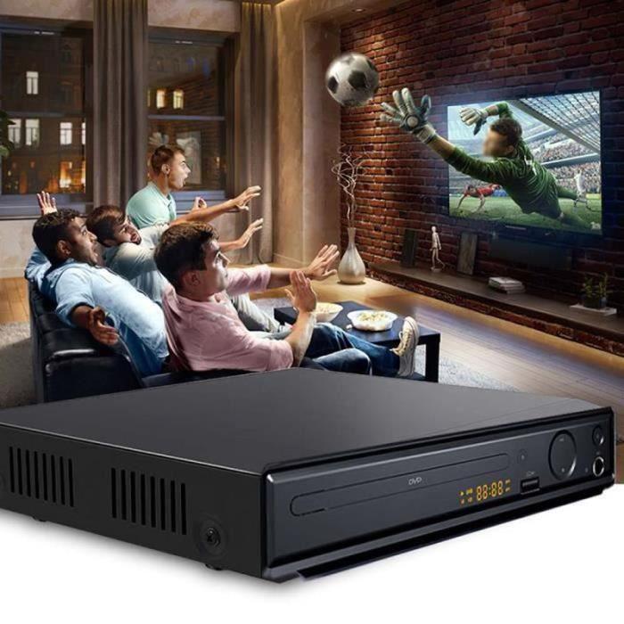 ZF34884-Lecteur DVD, adapté à la télévision, lecteur HD DVD - CD, avec sortie HDMI AV