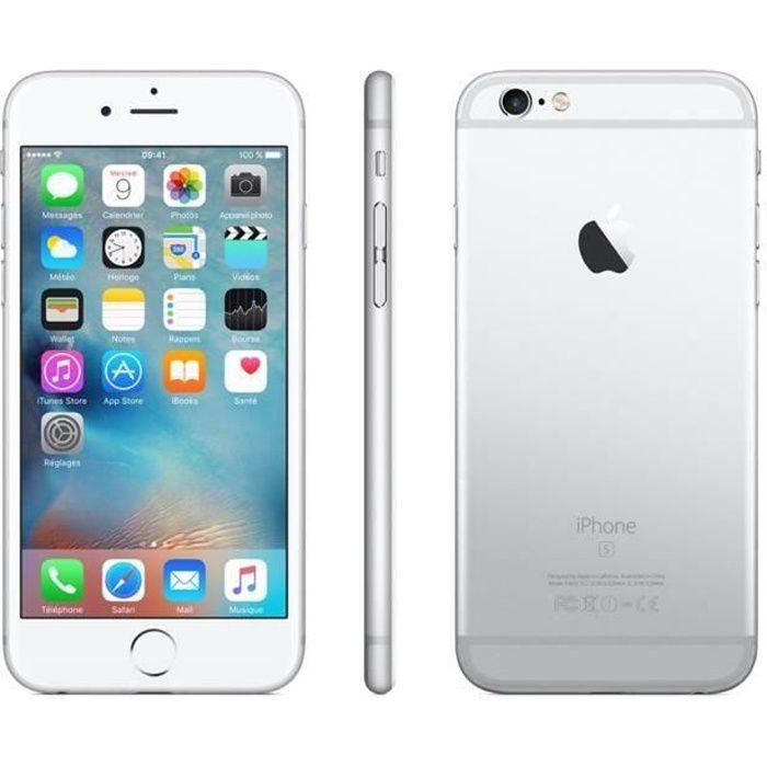 SMARTPHONE iPhone 6s 64 Go Argent Reconditionné - Très bon Et