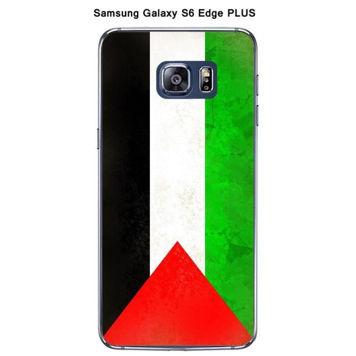 coque samsung galaxy s6 edge plus drapeau palestine. Black Bedroom Furniture Sets. Home Design Ideas
