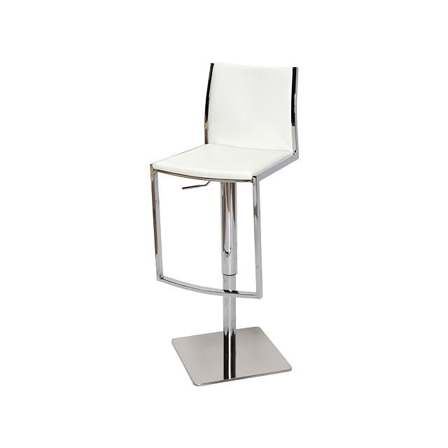 tabouret de bar moderne blanc hoedic achat vente tabouret cdiscount. Black Bedroom Furniture Sets. Home Design Ideas