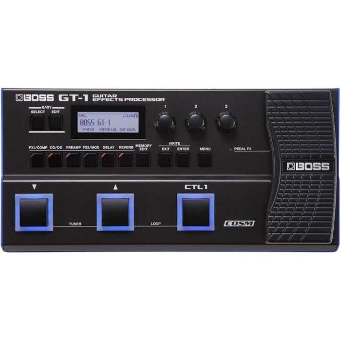 PÉDALE D'EFFETS BOSS GT-1 - multi-effets numérique guitare