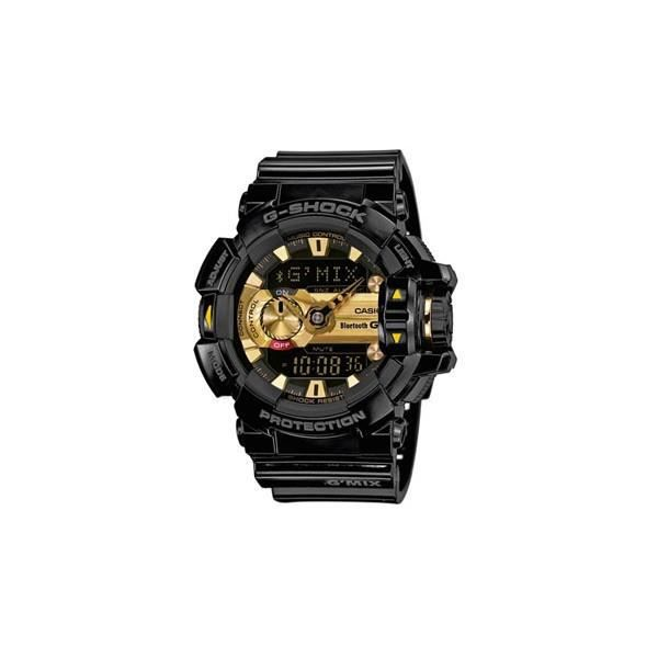montre casio g shock bluetooth noire dor homme gba 400 1a9er achat vente montre montre. Black Bedroom Furniture Sets. Home Design Ideas