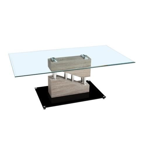 Table basse contemporaine armela bois fonc achat - Table basse contemporaine bois ...